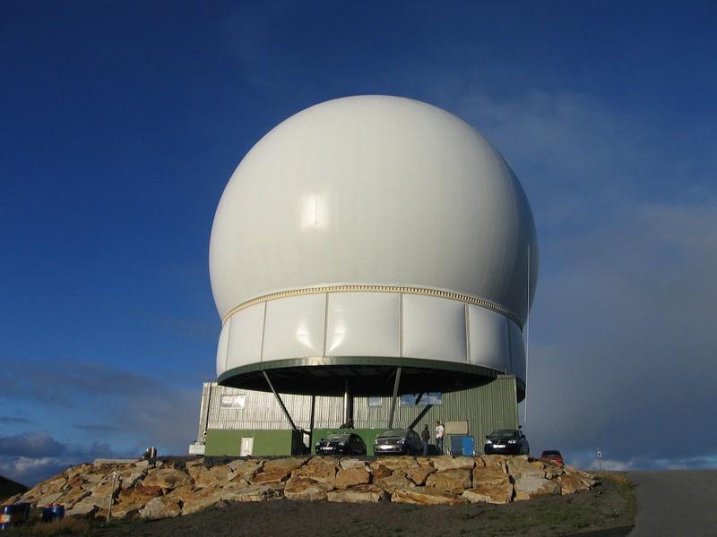 РЛС «Глобус-2», которая находится на острове Вардё с 1998 года.