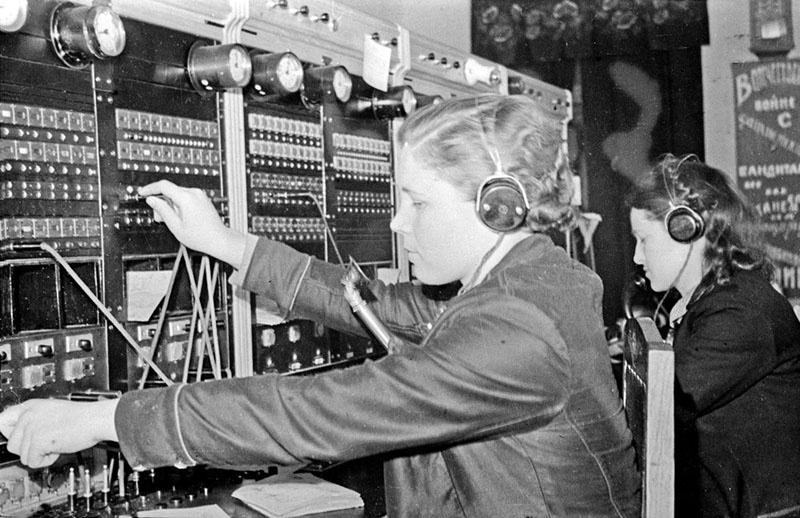 Когда началась война, Екатерина Павловна уже работала на Всесоюзном приёмном радио в Бутово под Москвой.