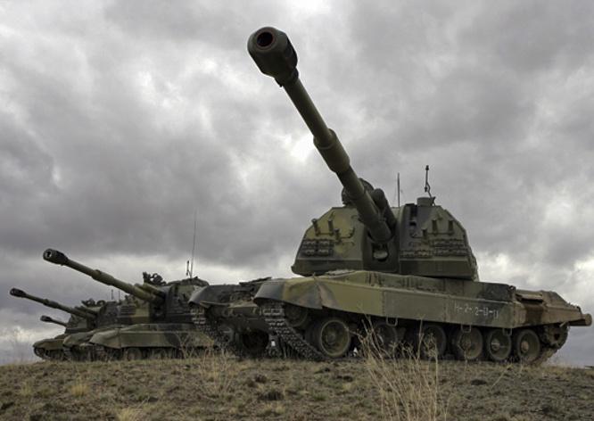Российская самоходная артиллерийская установка «Коалиция-СВ».