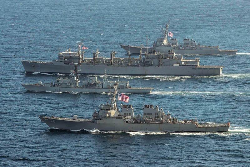 ВМС США сегодня постоянно присутствуют в арктических водах.