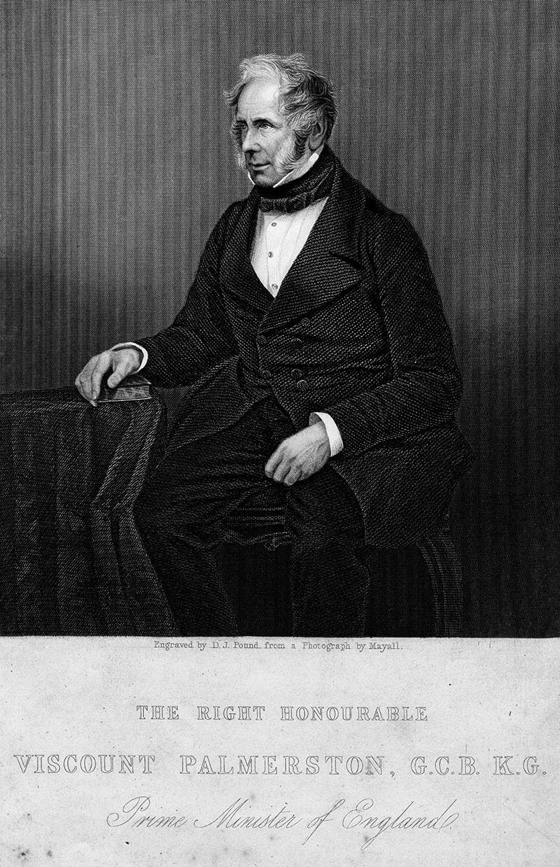 Лорд Генри Джон Темпл Пальмерстон.