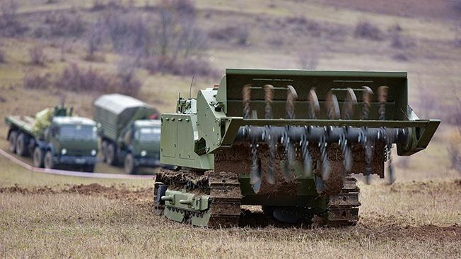 «Боевые скорпионы» и военные тракторы