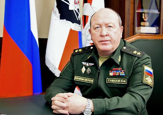 Начальник инженерных войск Вооружённых сил Российской Федерации генерал-лейтенант Юрий Ставицкий.