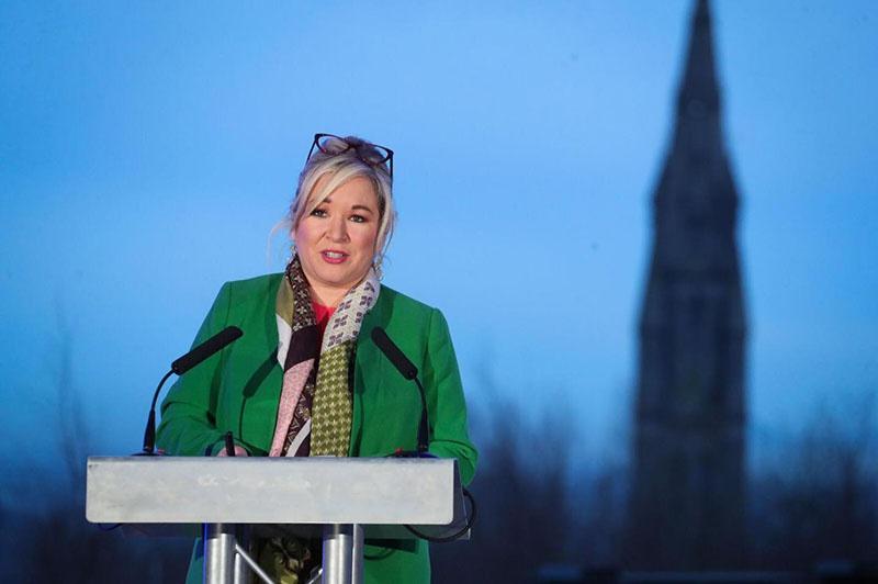 Заместитель первого министра Северной Ирландии Мишель О'Нил из республиканской партии «Шинн Фейн» высказалась об активизации подготовки к «приграничному опросу».