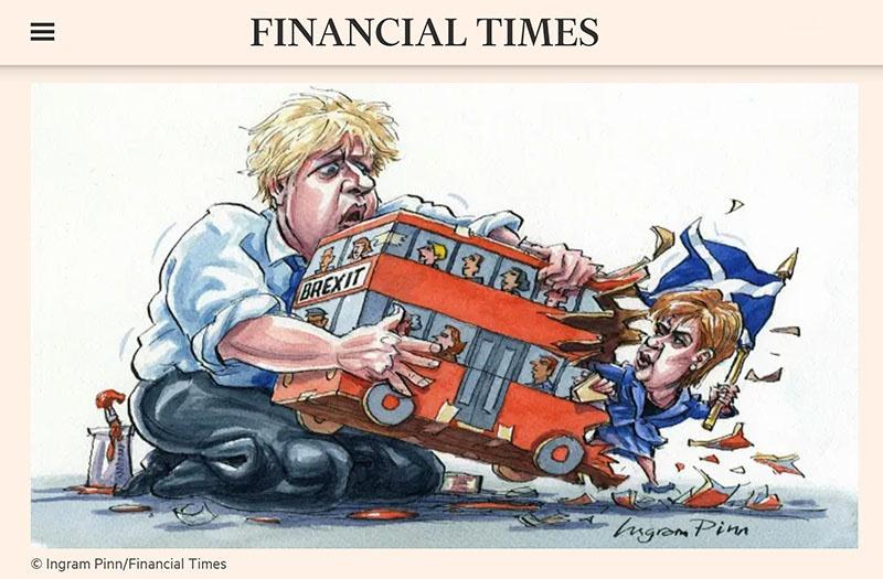 Влиятельная Financial Times признаёт, что что «у Шотландии есть веские причины расстаться с Великобританией».