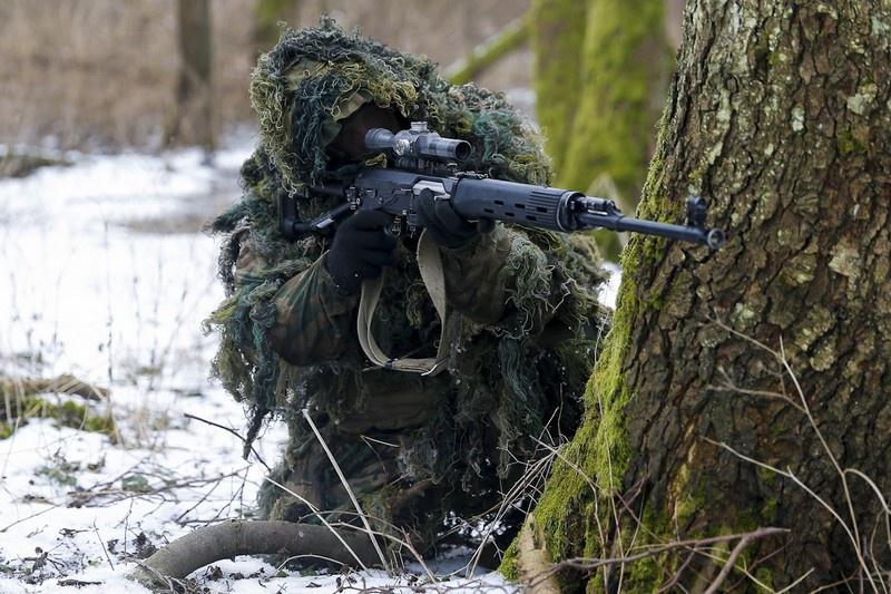 В Калининградской области прошло тактическое учение с десантно-штурмовым батальоном морской пехоты Балтийского флота.