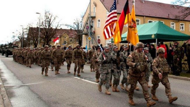 В начале февраля новая администрация США приостановила вывод трети американских войск из Германии.
