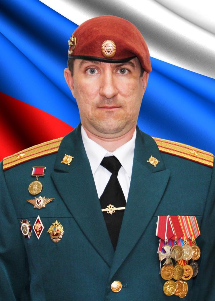 Майор Олег Тапио.