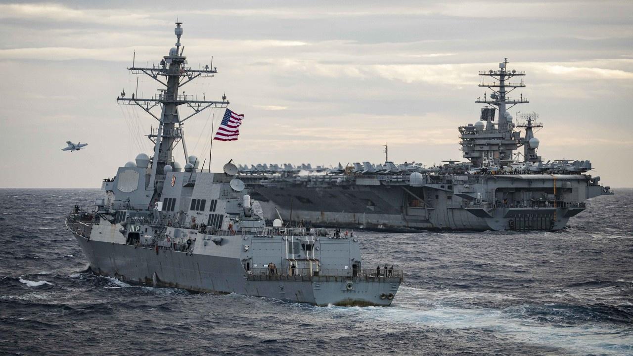 Авианосная группа ВМС США: войну заказывали?