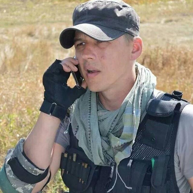 «Киборг» с позывным «Богема», а ныне депутат от фракции «Голос» Андрей Шараськин.