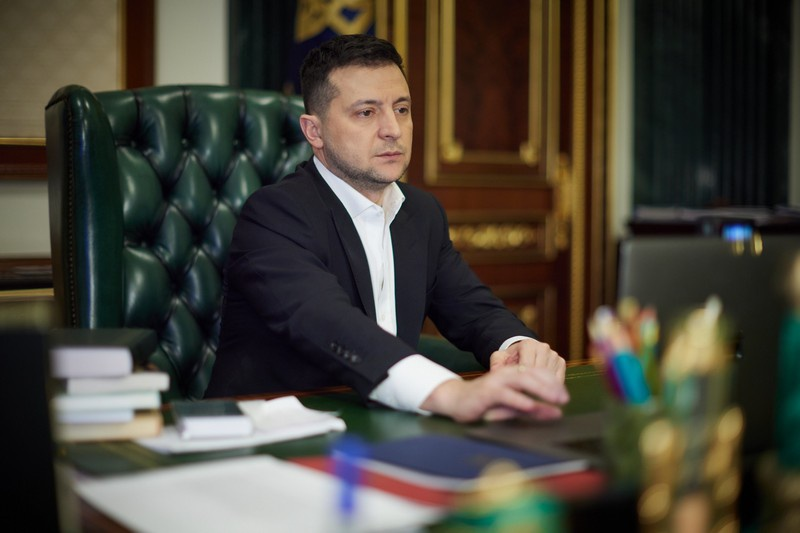30 сентября 2020 года Зеленский подписал указ № 417/2020 «О Дне территориальной обороны Украины».