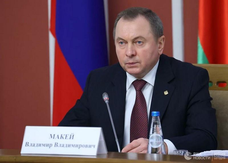Министр иностранных дел Белоруссии Владимир Макей. Фото РИА Новости