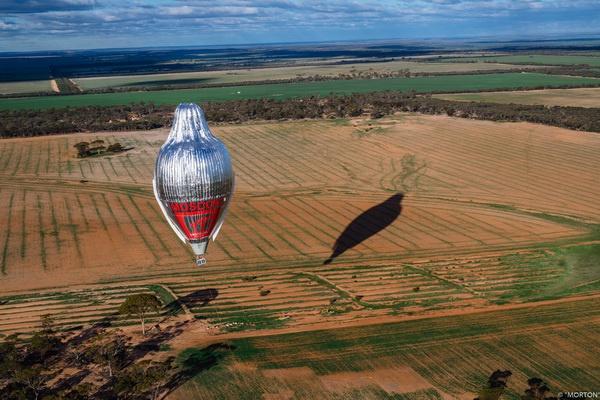 Полёт на шаре «Мorton» в 2016 году.