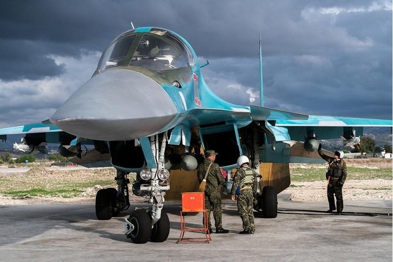 Воздушно-космические силы РФ в Сирии.