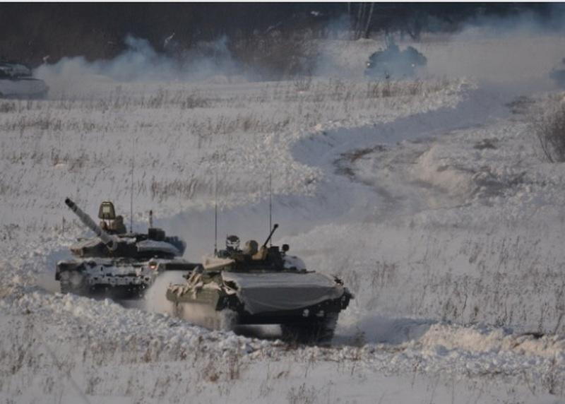 В Кузбассе завершилось масштабное командно-штабное учение с мотострелковым соединением ЦВО.
