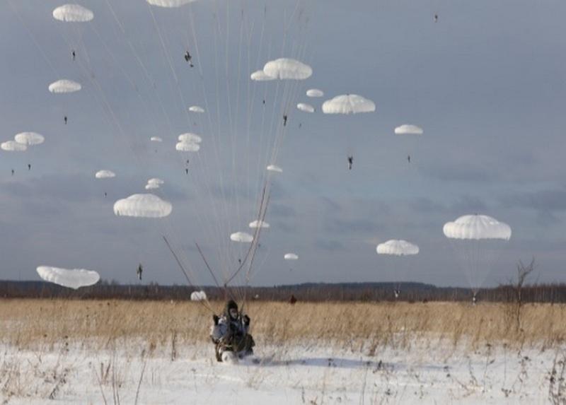 В трёх регионах России завершилось масштабное КШУ с парашютно-десантным и артиллерийским полками.