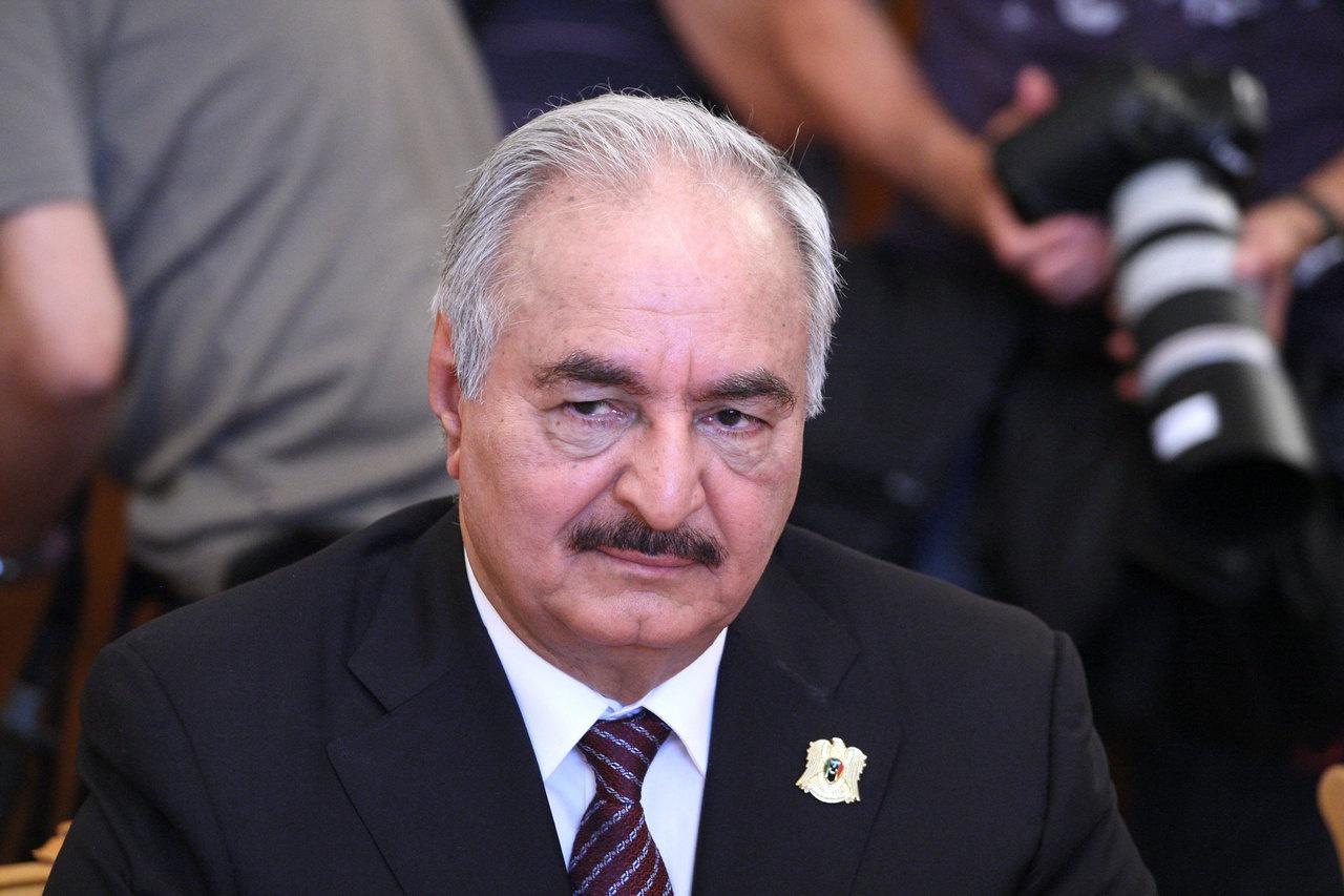Главком (ЛНА) Халифа Хафтар.