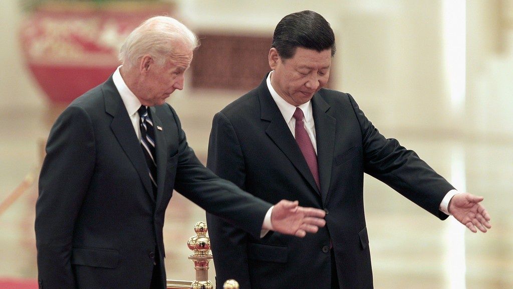 Си призвал Джо к «беспроигрышному» сотрудничеству, Джо пообещал Си «победить» Пекин