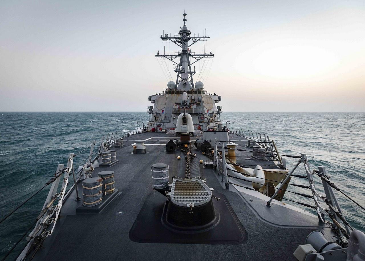 4 февраля 2021 г. эсминец «Джон С. Маккейн» прошёл через Тайваньский пролив.