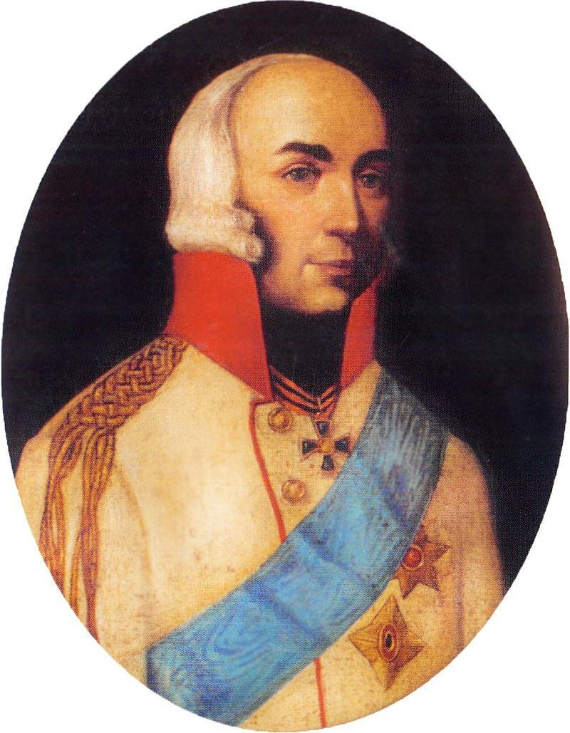 Князь Павел Дмитриевич Цицианов, генерал, главнокомандующий в Грузии.