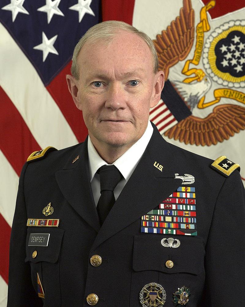 Бывший председатель Объединённого комитета начальников штабов США Мартин Демпси.
