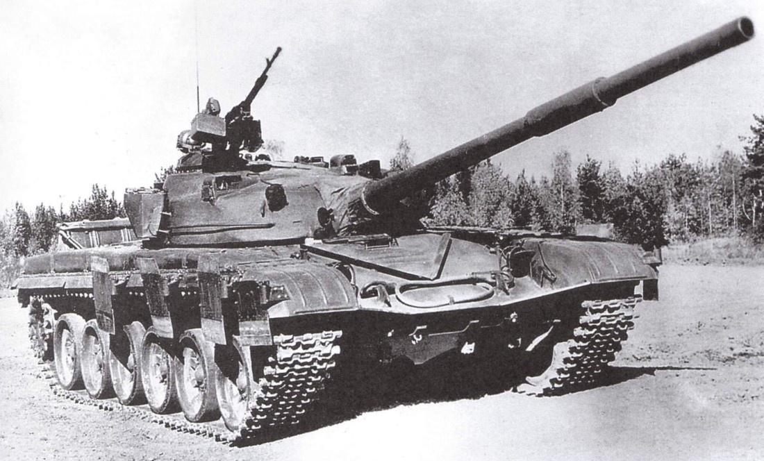 Серийный танк Т-72 образца 1975 г.