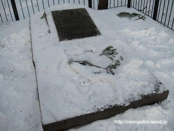Место первого захоронения Зои Космодемьянской.