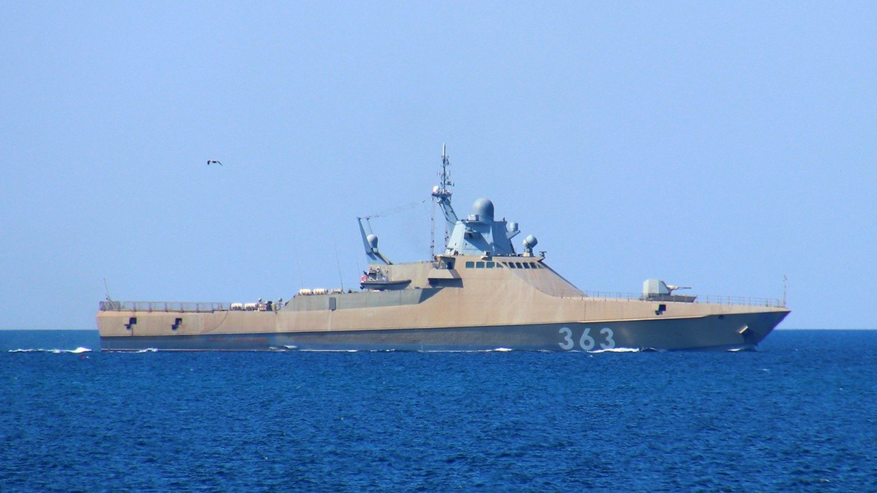 В ноябре 2020 года Черноморскому флоту был сдан новый патрульный корабль «Павел Державин» (проект 22160).