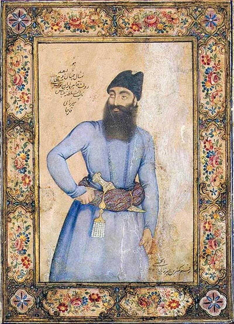 Наследный принц Аббас-Мирза.