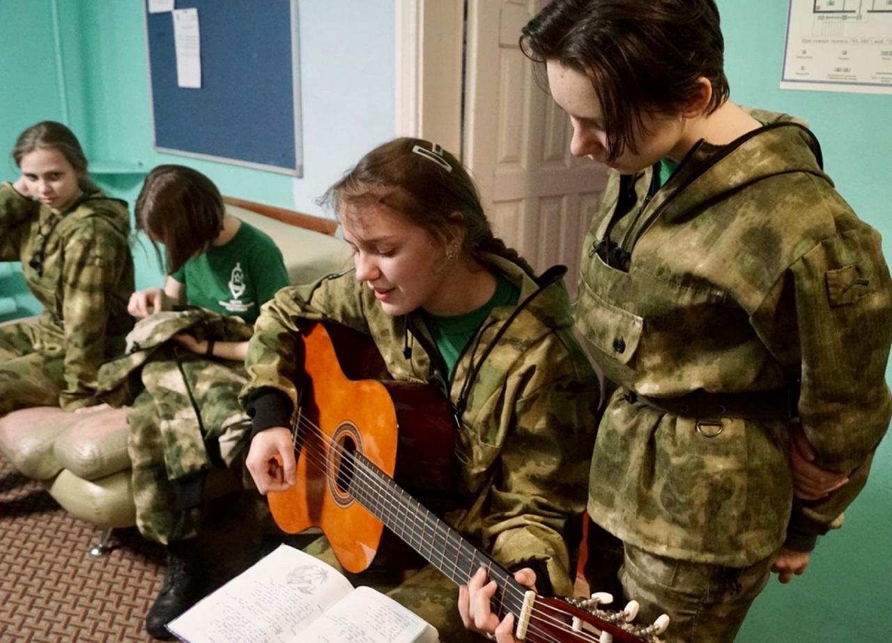 Песня для участников движения «Русичи» - воспитатель души.