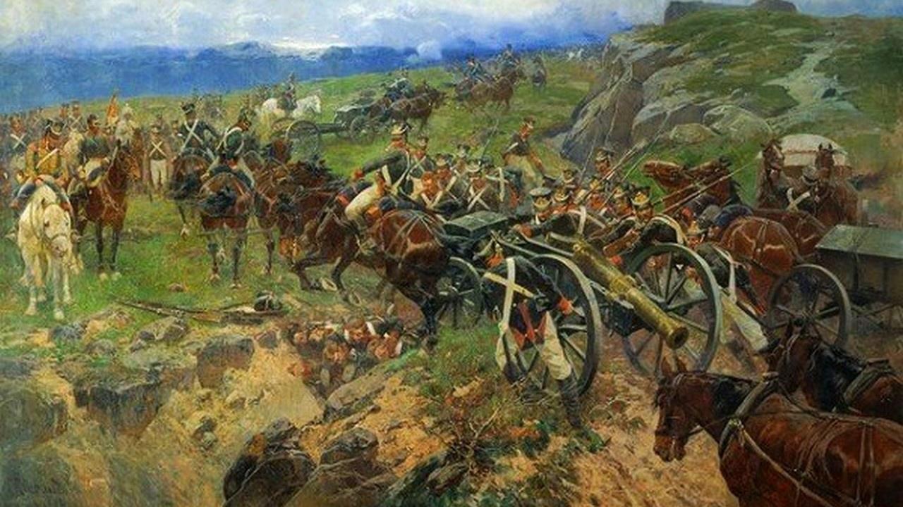Наши Фермопилы: 500 русских солдат против 40 тысяч персов