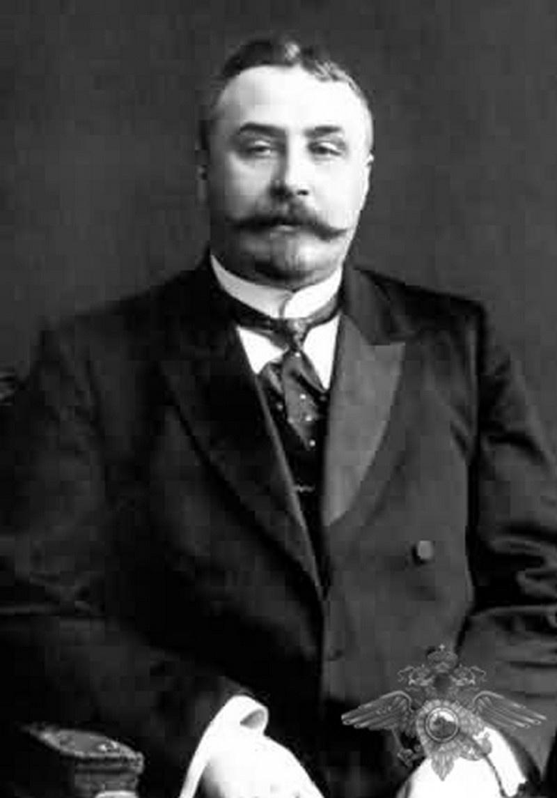 Начальник русской уголовной полиции и всей империи Аркадий Францевич Кошко.