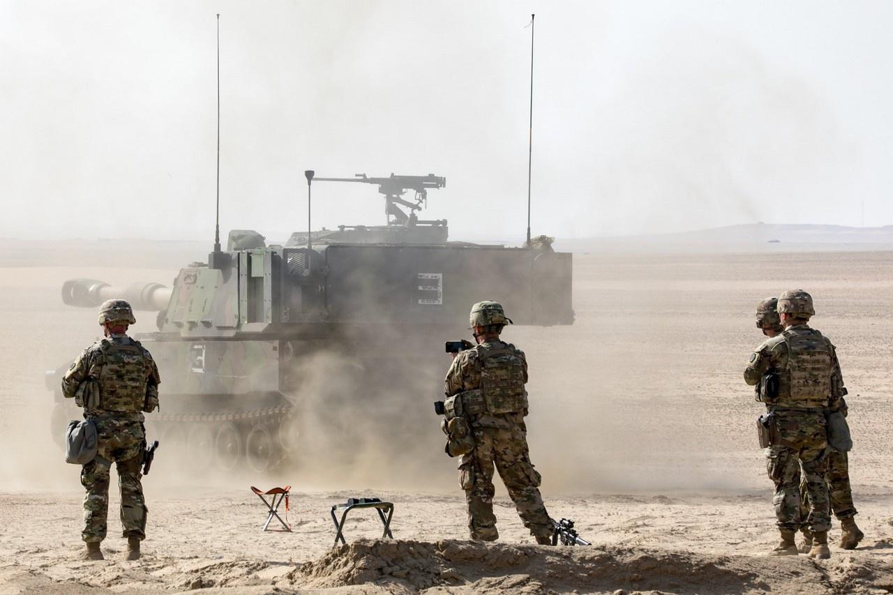Американцы с начала 2017 года стали размещать на ротационной основе у российских границ бронетанковую бригадную боевую группу (Armored Brigade Combat Team).
