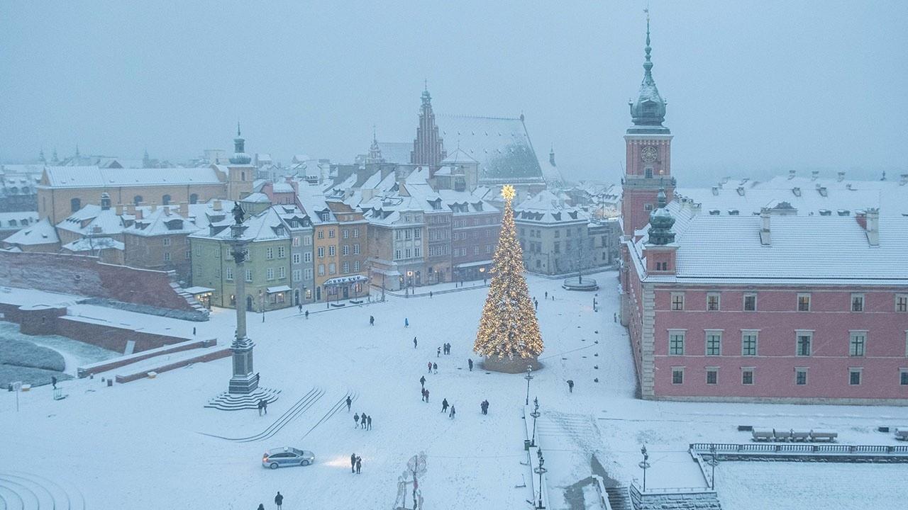 В начале года в европейских странах зафиксировали рекордно низкие температуры.