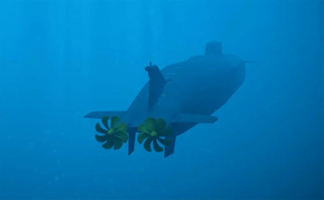 Подводный беспилотный аппарат «Посейдон».