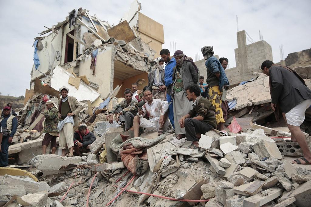 В Йемене разворачивается крупнейшая гуманитарная катастрофа в мире.
