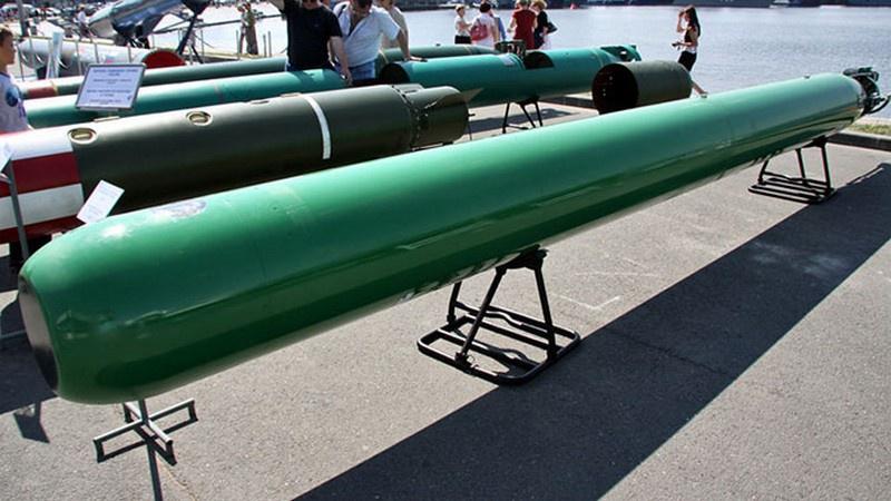 Российская торпеда «Футляр» - новейшее достижение отечественного ОПК.