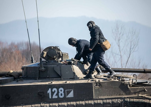 В Чечне определились лучшие экипажи 58-й армии ЮВО для участия в окружном этапе конкурса «Суворовский натиск».