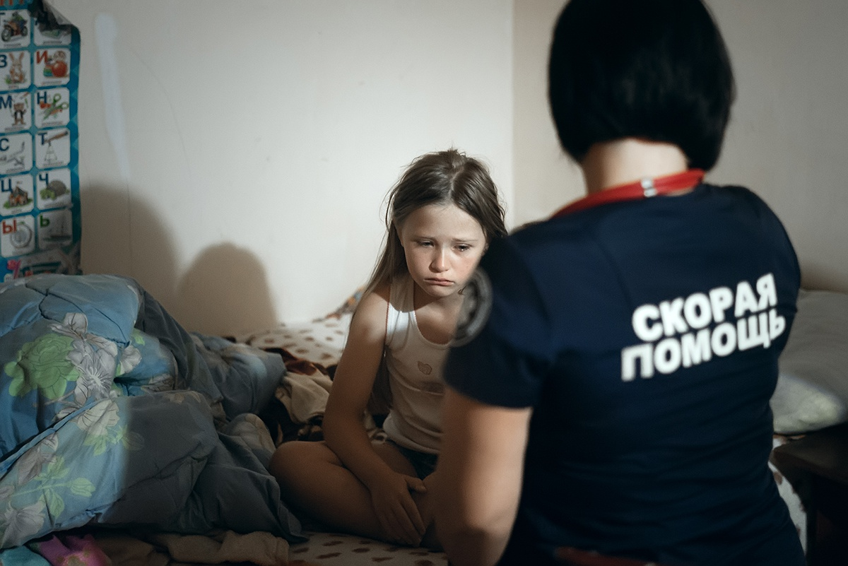 Морально тяжело, когда болеют дети.