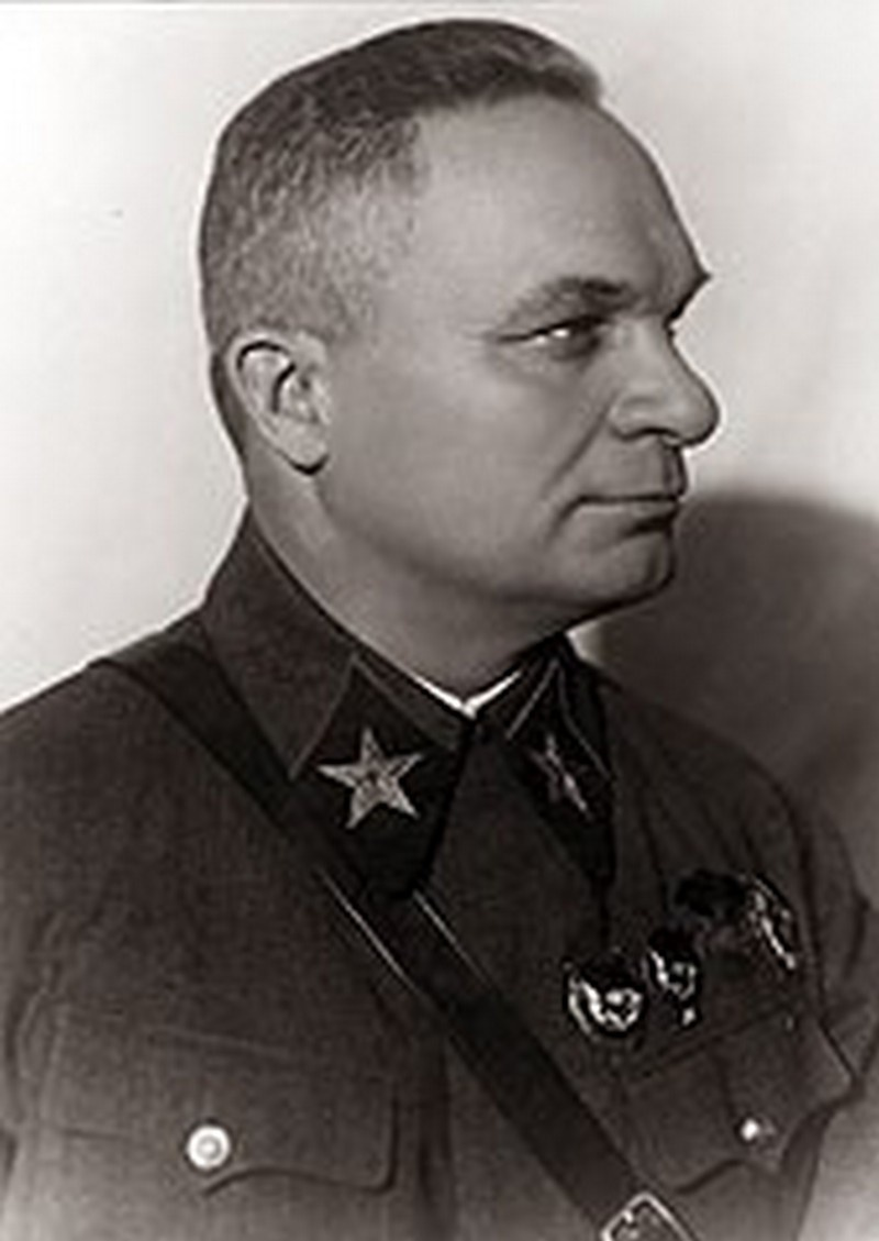 Командующий советским Южным фронтом Александр Ильич Егоров.