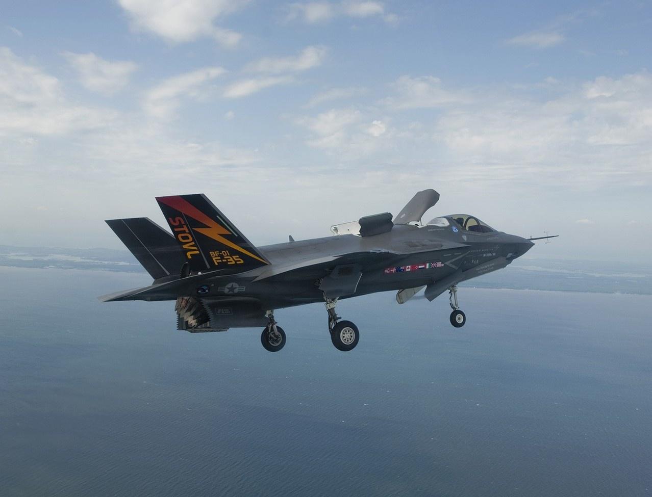 Самолёт F-35B STOVL(с укороченным взлётом и вертикальной посадкой) будет иметь эксплуатационный ресурс равный 2.100 лётным часам, вместо 9.000 заявленных.