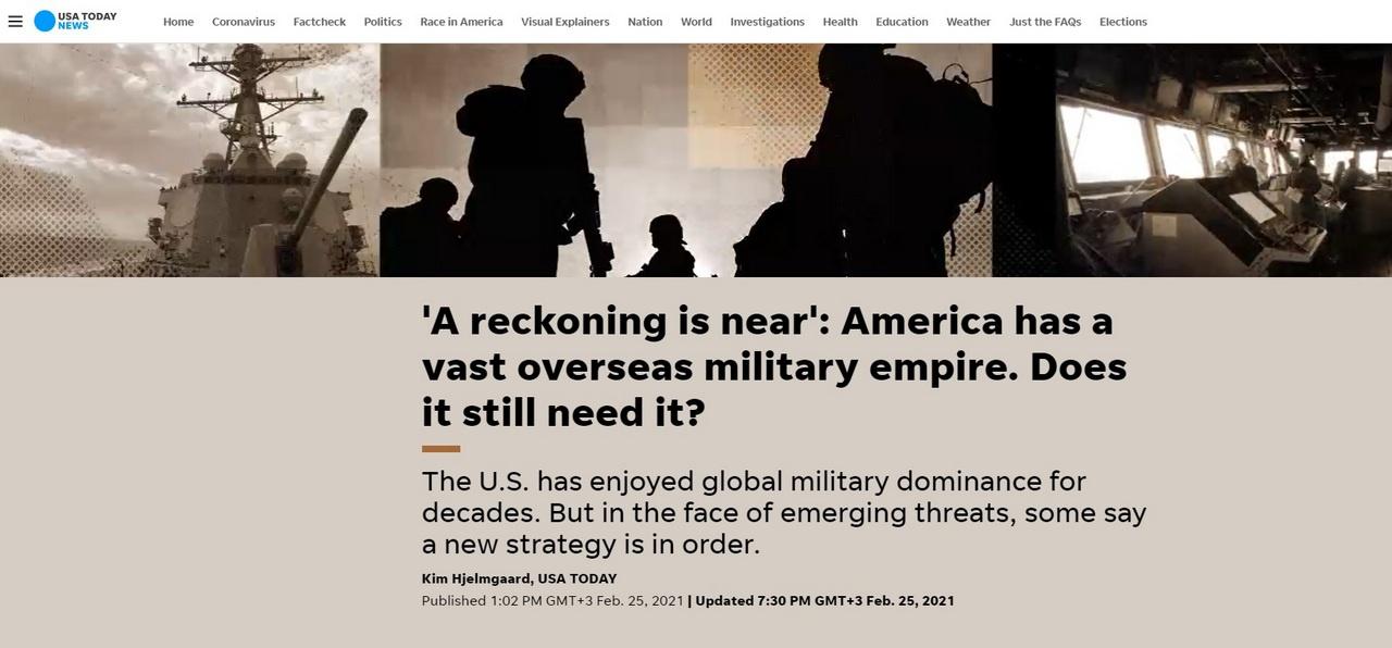 Газета USA Today произвела свой подсчёт, найдя по открытым источникам даты открытия более 350 баз.