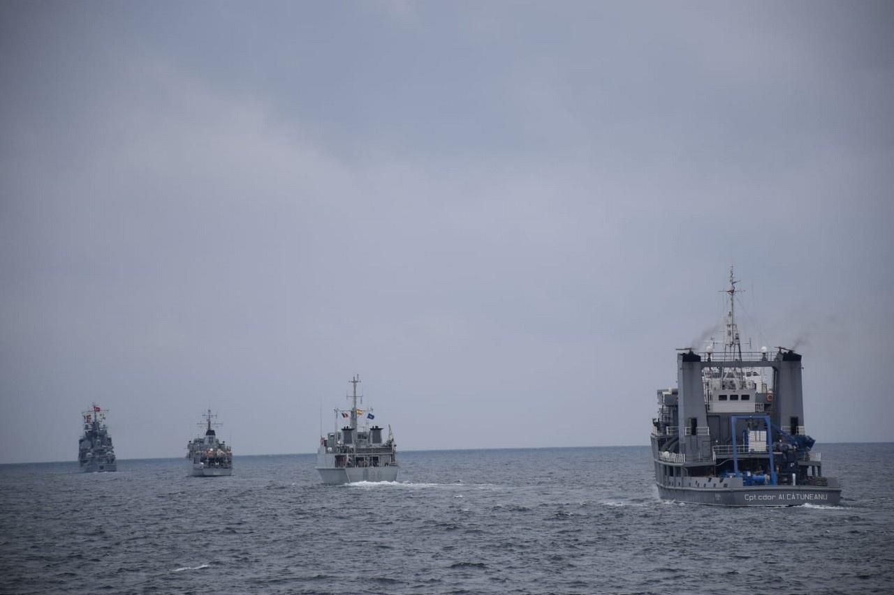 В международных учениях НАТО Poseidon 21, проходивших с 27 февраля по 6 марта, приняли участие моряки из шести стран - Греции, Испании, Румынии, США, Турции и Франции.