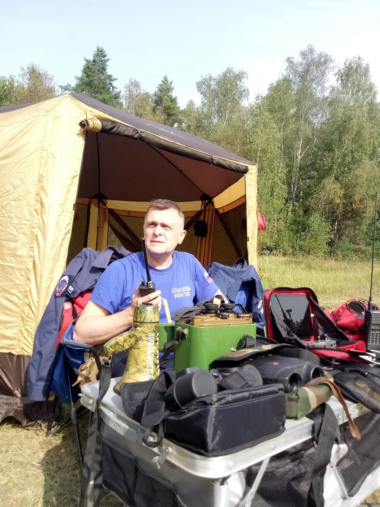 Директор Фонда поддержки ветеранов оперативных служб силовых ведомств «Центр-Т», руководитель поисково-спасательного отряда «Надежда» Владимир Кошкарёв.