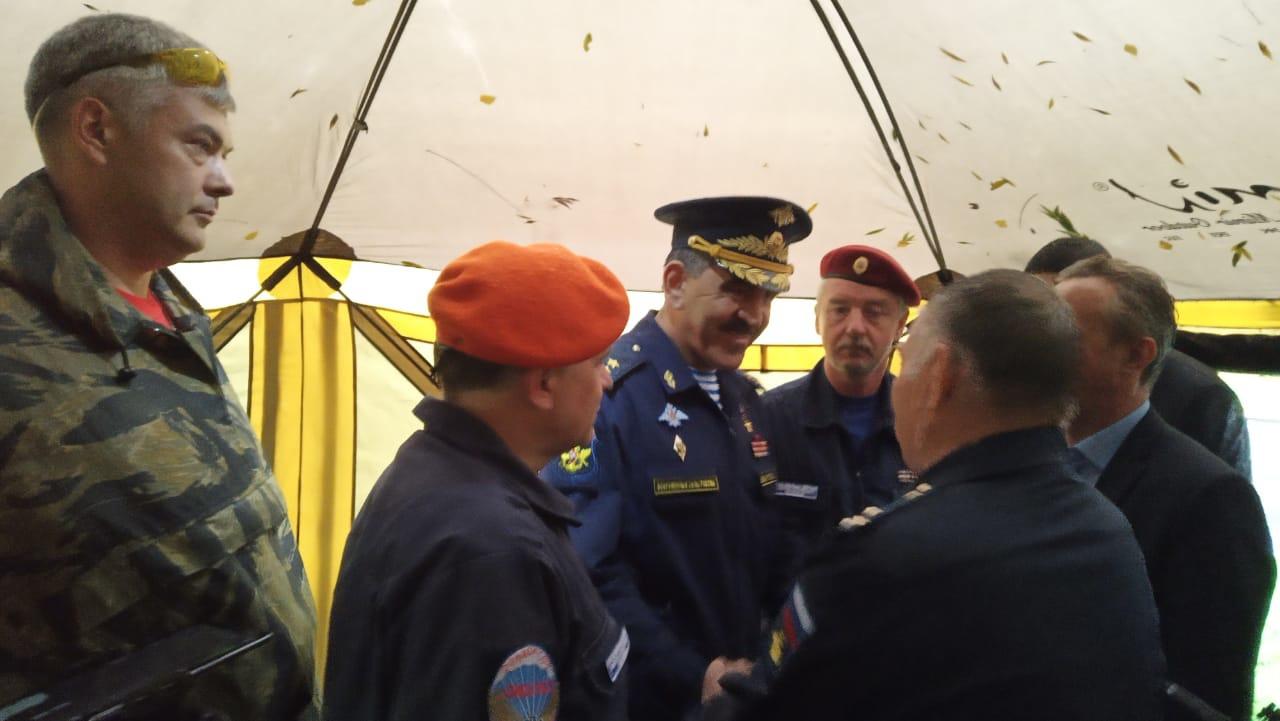Осенью 2020 года с работой отряда ознакомился заместитель министра обороны РФ генерал-лейтенант Юнус-Бек Баматгиреевич Евкуров.