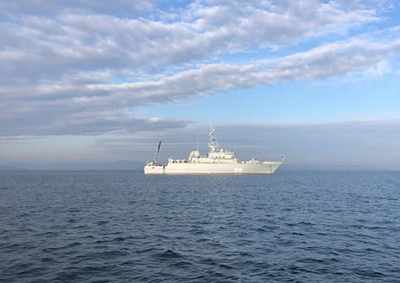 Экипаж строящегося для Тихоокеанского флота новейшего тральщика проекта 12700 «Пётр Ильичёв» завершил обучение в Объединённом центре ВМФ.