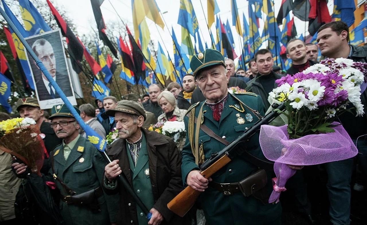 Марш по случаю 70-летия Украинской повстанческой армии.