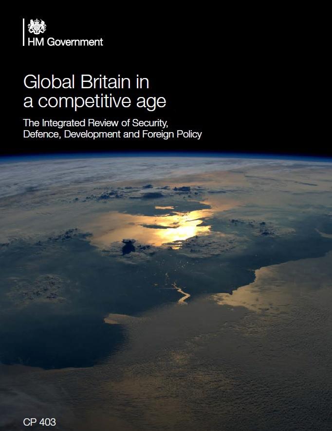Борис Джонсон представил новую доктрину внешней и оборонной политики Великобритании под эпическим названием «Глобальная Британия в эпоху конкуренции».