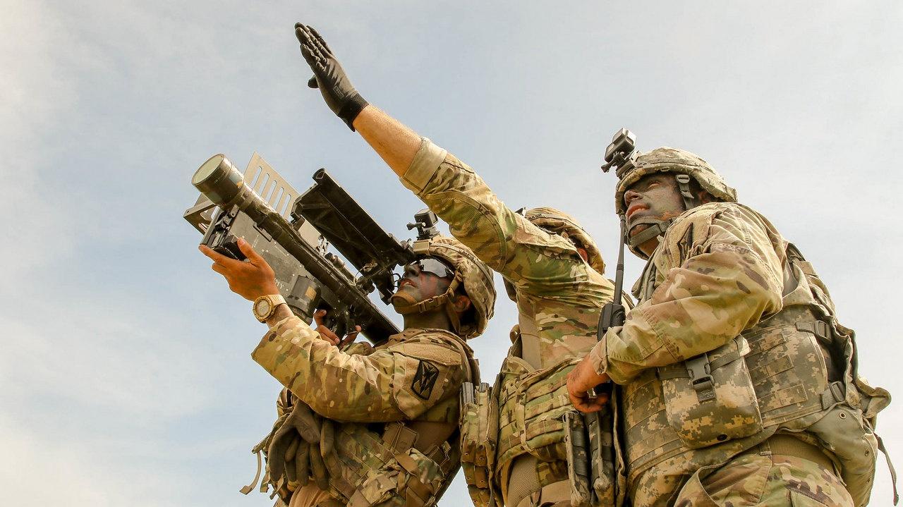 Солдаты 35-й артиллерийской бригады противовоздушной обороны участвуют в пилотной программе многодоменной оперативной группы.