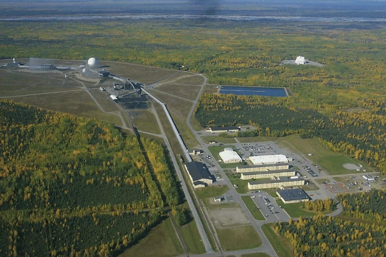Радиолокационная станция ВВС США на Аляске.